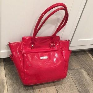 Grace Adele red shoulder bag